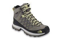 The North Face Wreck  chaussures randonne Femme Mid, GTX jaune/vert